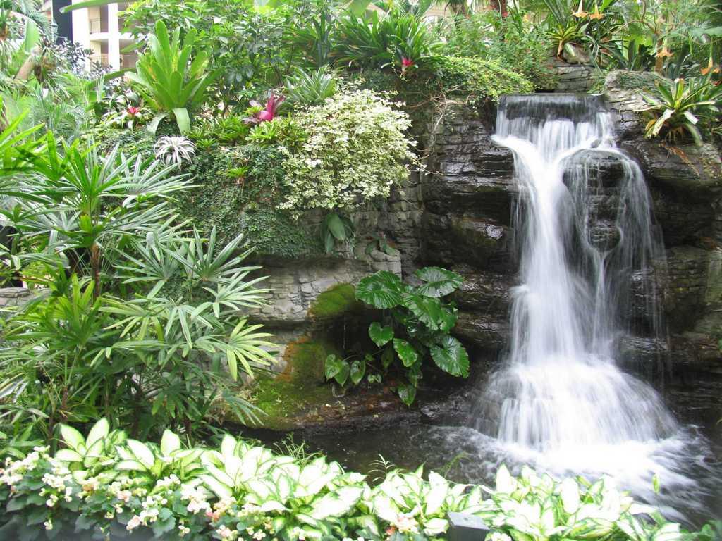 Дача водопад своими руками фото